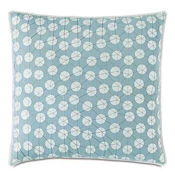 BIMINI GRAPHIC DECORATIVE PILLOW