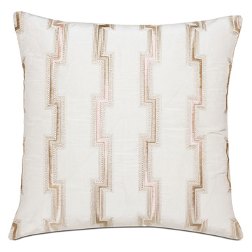 FORTUNE BLUSH DECORATIVE PILLOW