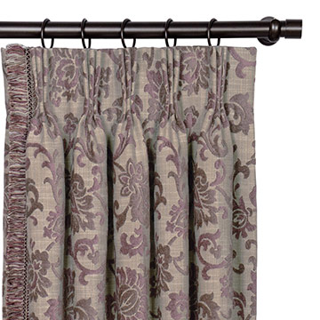 MICA GUNMETAL CURTAIN PANEL RIGHT