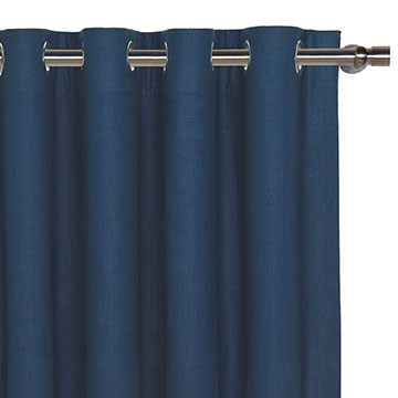 BREEZE INDIGO CURTAIN PANEL