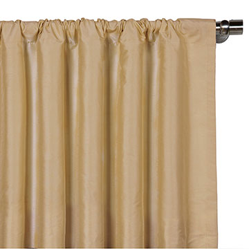 EDRIS GOLD CURTAIN PANEL