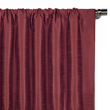 EDRIS CRANBERRY CURTAIN PANEL
