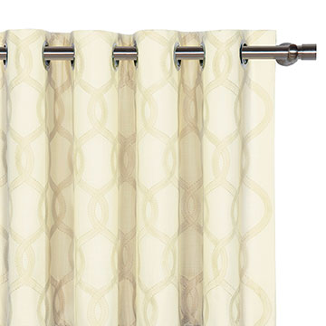 GRESHAM SNOW CURTAIN PANEL