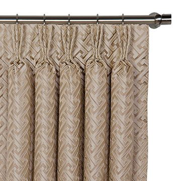 ROSCOE TAUPE CURTAIN PANEL