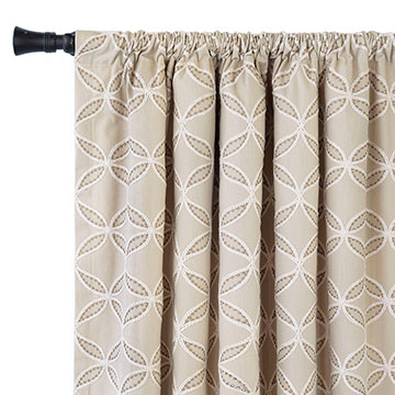 HADON NATURAL CURTAIN PANEL