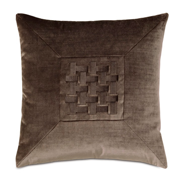 TERYN WOVEN DECORATIVE PILLOW