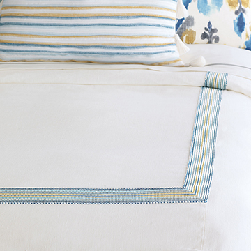 BREEZE SHELL DUVET COVER (Q)