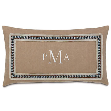 BREEZE SAND W/3-LETTER MONOGRAM