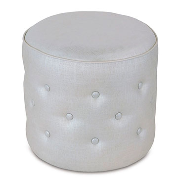 REFLECTION FROST TUFTED OTTOMAN
