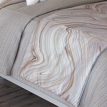 BLAKE MINERAL BED SCARF (Q)