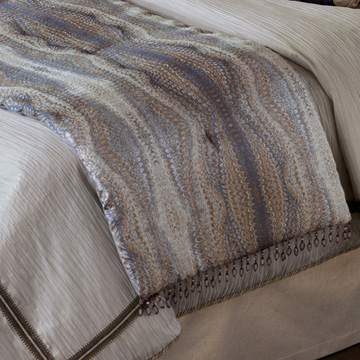 IMOGEN METAL BED SCARF (Q)