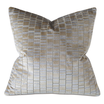 ARTEMIS CUT-VELVET DECORATIVE PILLO