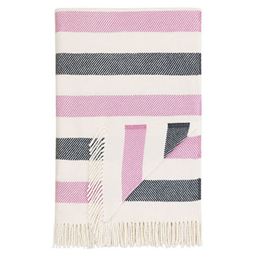 WOLCOTT HEATHER THROW